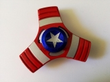 Hand Finger Spinner - Captain Amerika Red