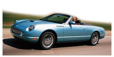 Welly Ford Thunderbird cabrio XI 2002