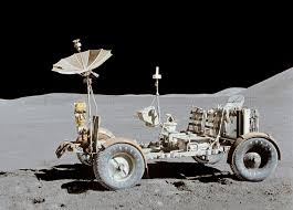 Papierový model LRV Lunar Roving Jeep