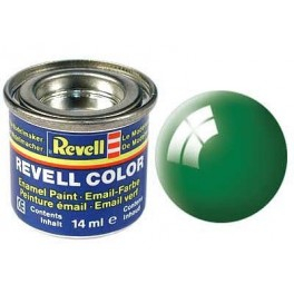 Revell synt. farba 61 Emerald green RAL6029