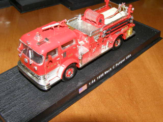 Mack C Pumper USA 1958