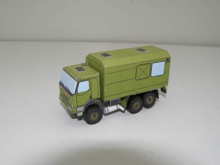 Model pap. hot. - Tatra ATS 210M 6x6