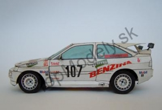 Papierový model Ford Escort RS Cosworth 4x4