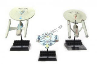 Set modelov Star Trek - Enterprise and Defiant