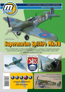 Papierový model - Supermarine Spitfire Mk.VB