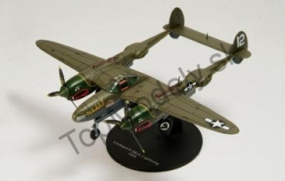 Kovový model - Lockheed P-38J/L Lightning USA