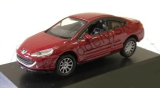 Model Auta Welly 1:87 Peugeot 407 Coupé