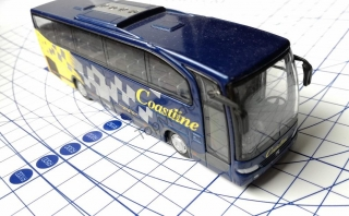 Model Autobusu Mercedes Benz Travego - Coastline 1:87