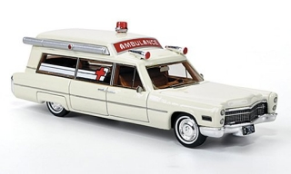 Model auta - Cadilac S Ambulance H0