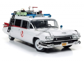 Cadillac Ecto 1A Ghostbusters 1:18