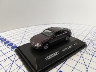 Welly BMW 645Ci Model Auta 1:87