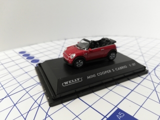Welly Mini Cooper S Cabrio Model Auta 1:87