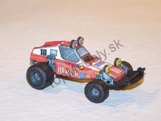 Papierový model - Zeta Racing Buggy Rough Rider