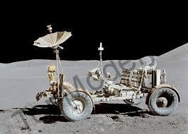 Papierový model LRV Lunar Roving Jeep ABC