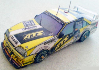 Papierový model Opel Omega 3000 Evo Team Irmscher